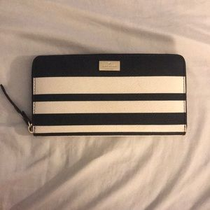 Striped Kate Spade Wallet